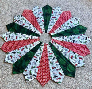 Christmas Tree Skirt by Kathy